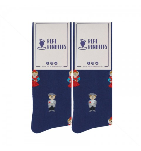 Calcetines de chulapos y manolas