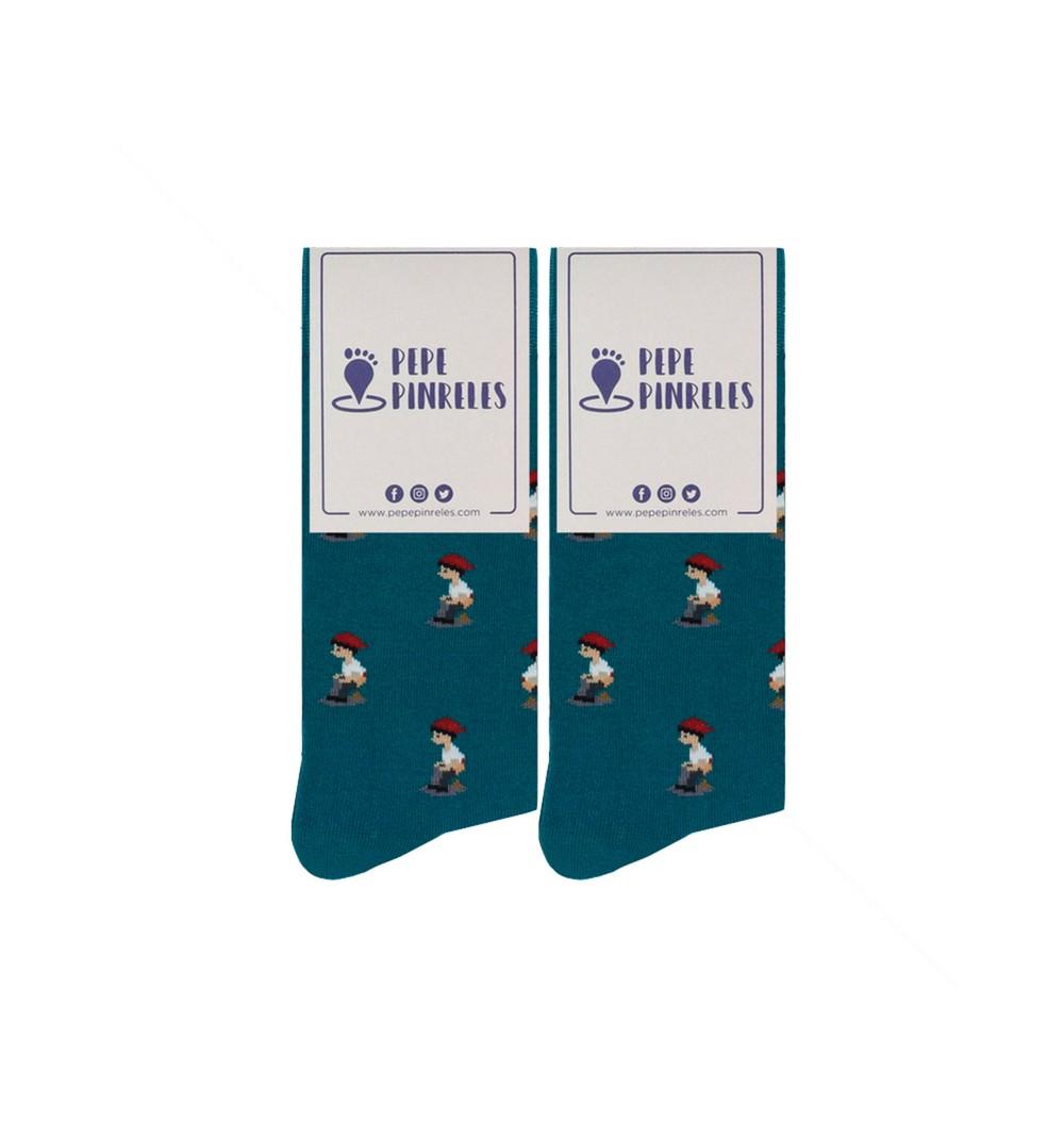 Calcetines de caganer