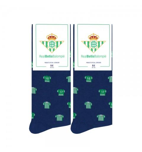 Calcetines de equipaciones del Real Betis Balompié