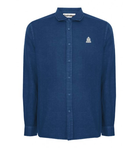 Camisa Cruzcampo Templete azul