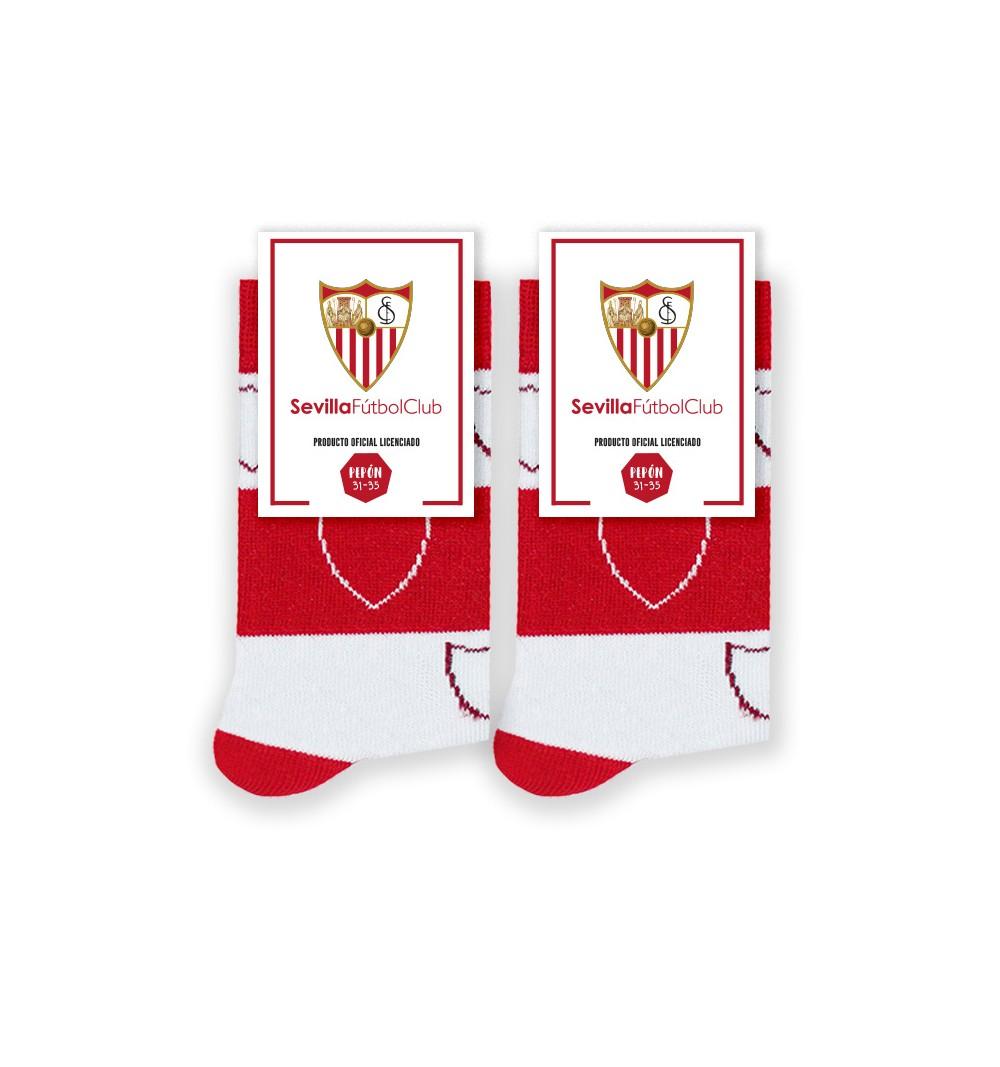 Calcetines del Sevilla FC para Niños