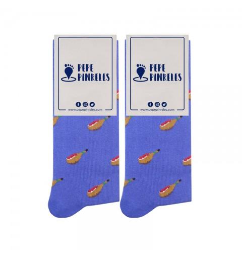 calcetines jamon