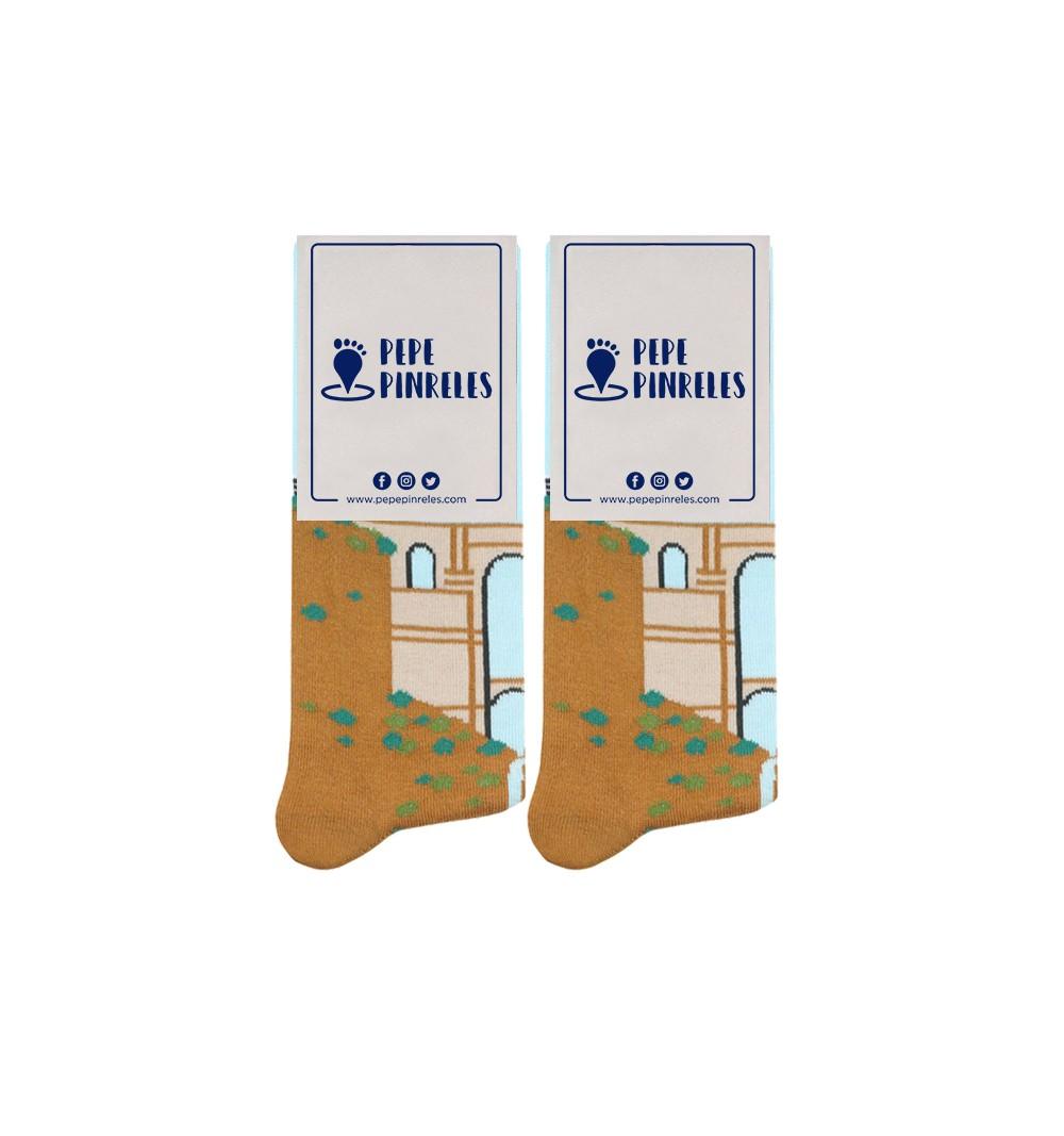 calcetines paisaje Ronda Málaga