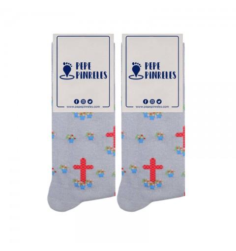 Calcetines cruz de mayo