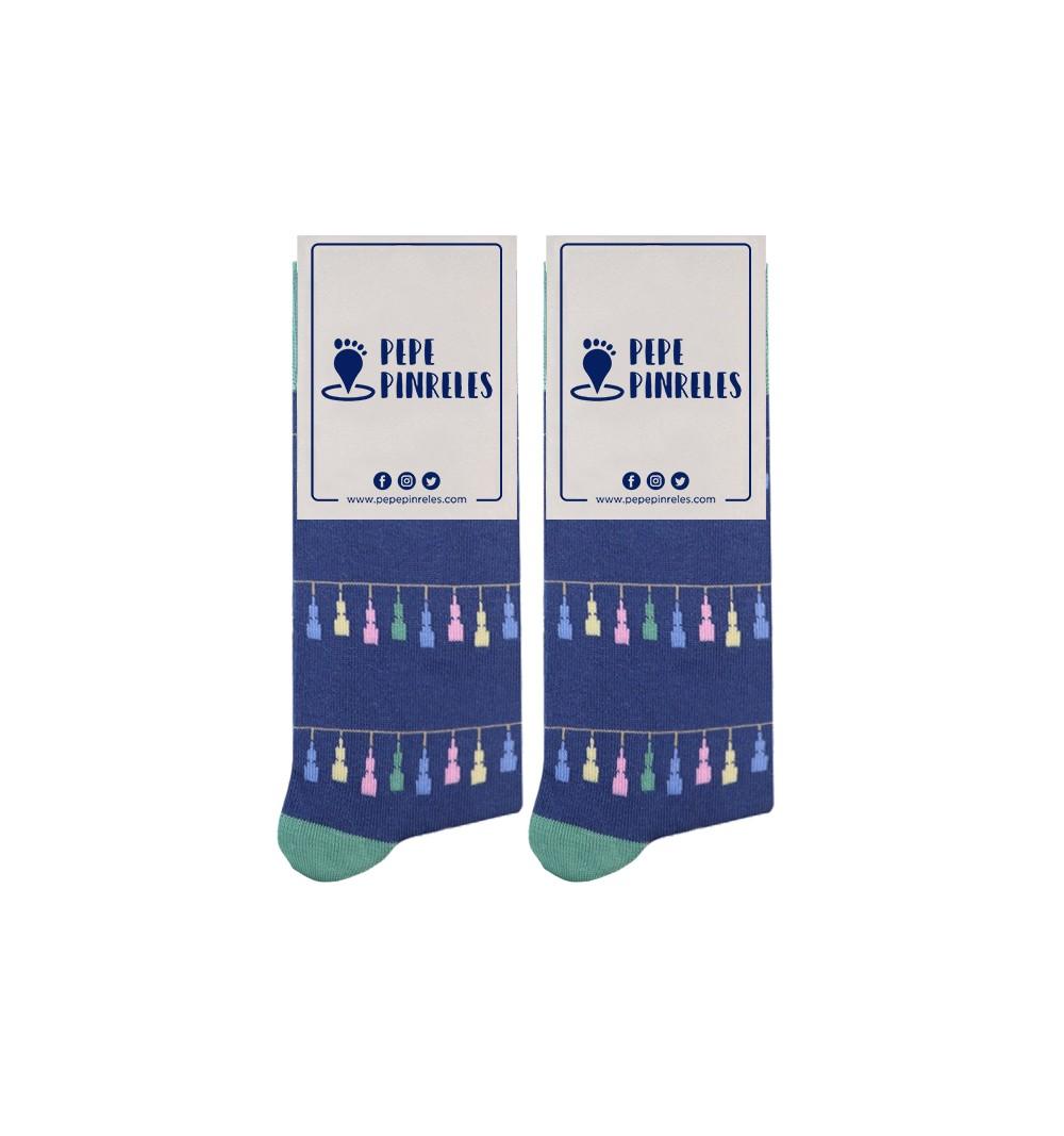 calcetines de las fallas de Valencia Mascletá