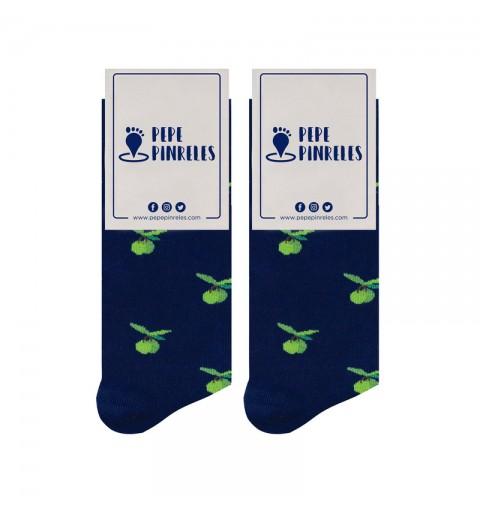 calcetines de aceitunas