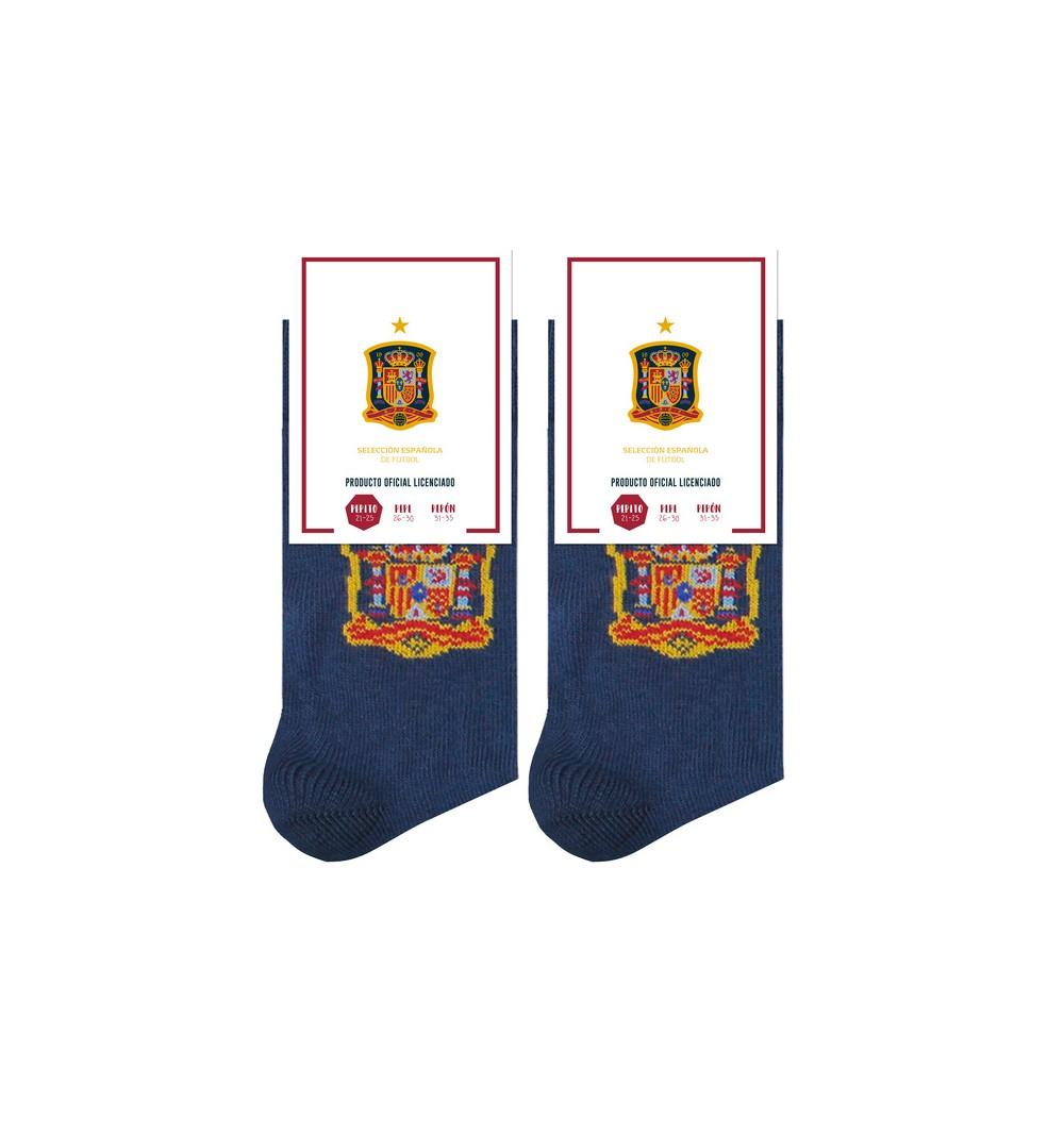 Calcetín Selección Española Escudo Niño