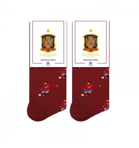 Calcetines de la Selección Española. Morata