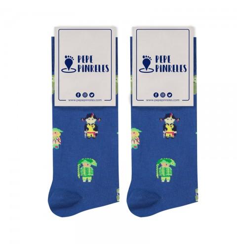 calcetines comparsas martínez ares