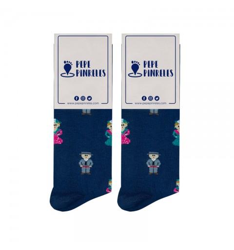 calcetines de flamencos