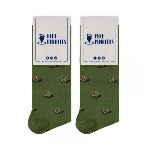 calcetines de caracoles