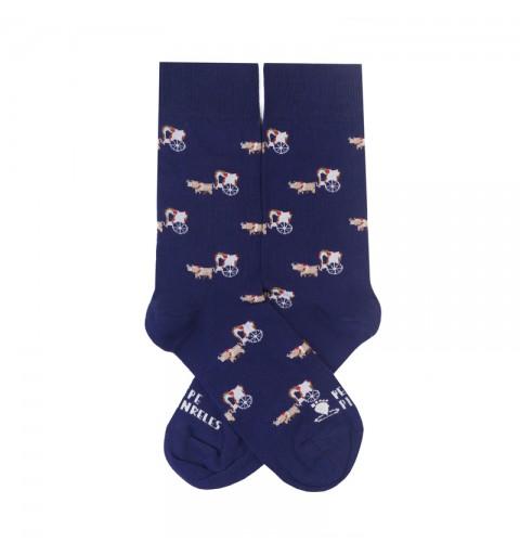 calcetines carreta rocio romeria