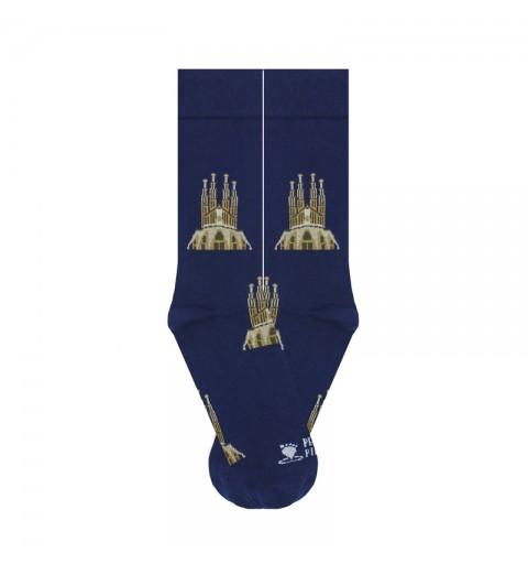 Calcetines de la Sagrada Familia de Barcelona