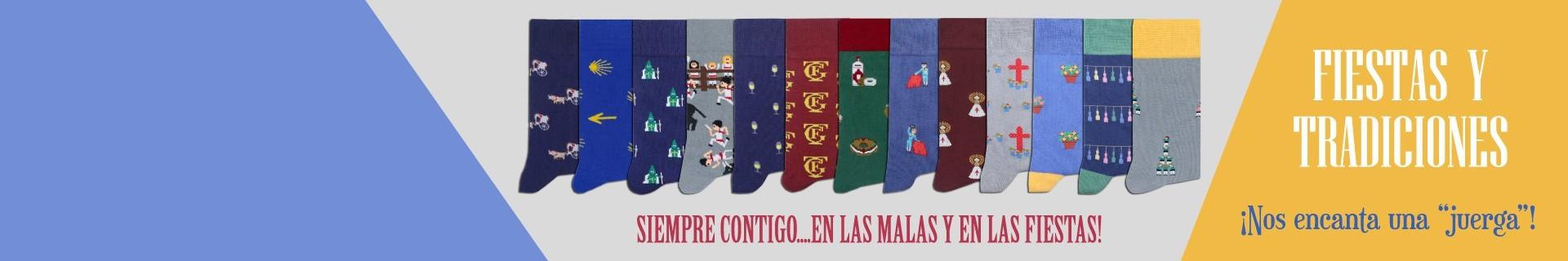 Calcetines de fiestas y tradiciones