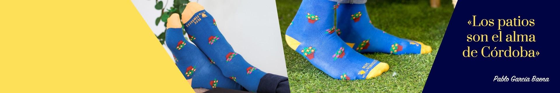 Los calcetines de las fiestas de los patios