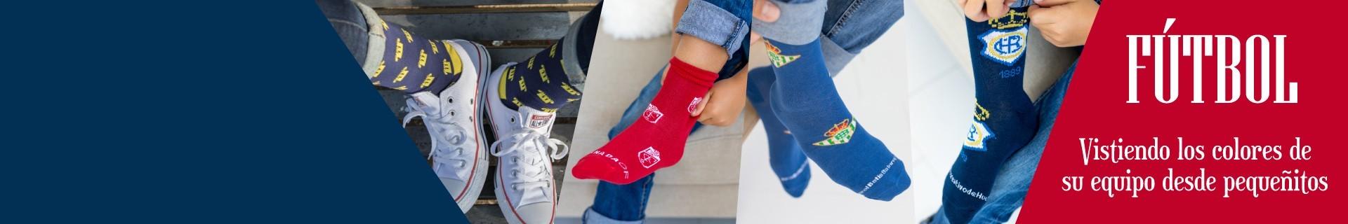 Calcetines de camisetas de fútbol para niños