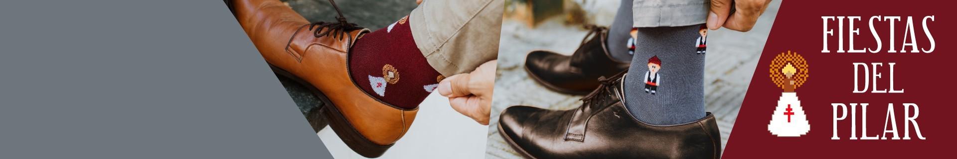 Calcetines de las Fiestas del Pilar